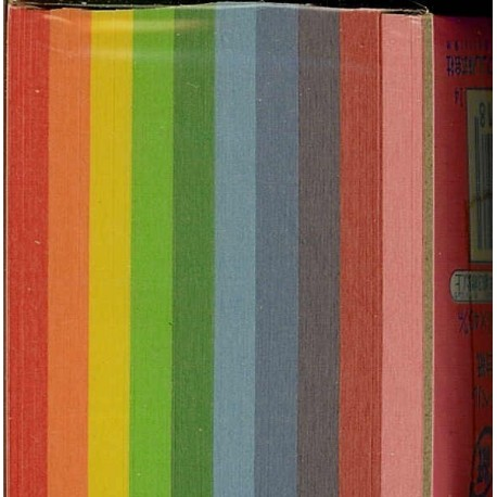 040 mm_ 500 sh - Mini Mini Plain Color Origami Paper