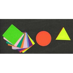 035 mm_  30 sh - Three Shape Color Paper