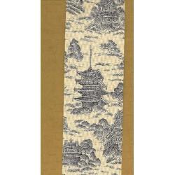 Japanese Pagoda Print Ribbon