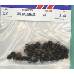 Wood Beads-Brown