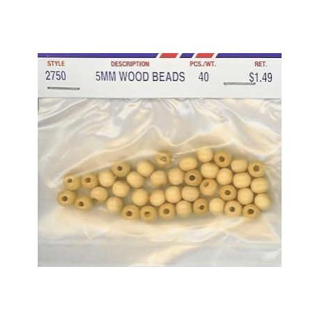 Wood Beads-Natural
