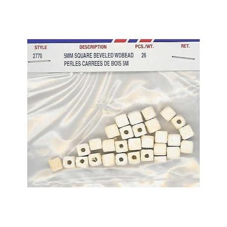 Wood Beads-White