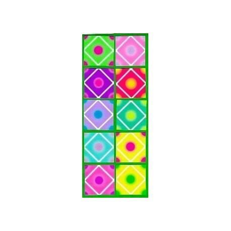 050 mm_ 220 sh - Crane Folding Paper  4 in Octagon Shape Plasti