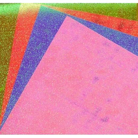 118 mm_   8 sh - Aurora Pearlized Origami Folding Paper