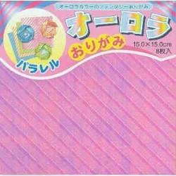 150 mm_   8 sh - Aurora Pearlized Origami Paper