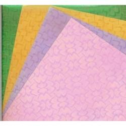 150 mm_   8 sh - Illusion Print Origami Paper