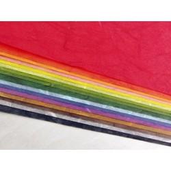 Origami Paper Mixed Colors Unryu Yulong Paper - 210 mm - 16 sheets