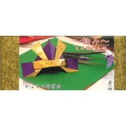 250 mm_   5 sh - Gold Foil Momigami Washi Paper