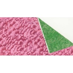 Florist Foil Pink and Green