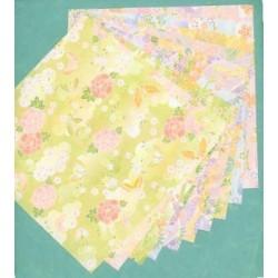 300 mm_  20 sh - Large Chiyogami Print Paper