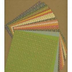 Origami Paper Same Print Washi - 150 mm -  20 sheets
