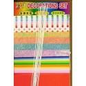 100 mm_  32 Sh - Decoration Set