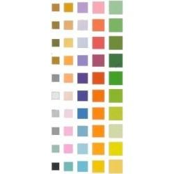 Origami Paper 50 Plain Colors - 176 mm -  60 sheets