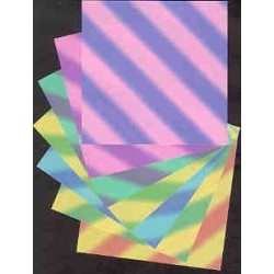 Origami Paper Beatto Floral Colored - 102 mm -  42 sheets