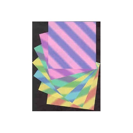 102 mm_  42 sh - Beatto Floral Colored Origami Paper