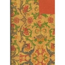 150 mm_   8 sh - Gold Florentine Print Paper