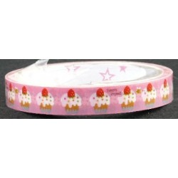 Cupcake Print Novelty Tape