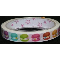 Creme Cookie Print Novelty Tape