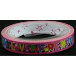 Friendship Print Novelty Tape