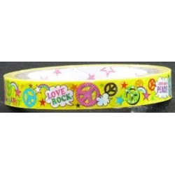 Hippie Print Novelty Tape