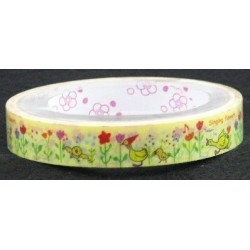 Singing Flowers and Duck Print Novelty Tape