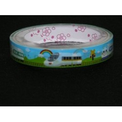 Sanrio Shinkansen Train Print Novelty Tape