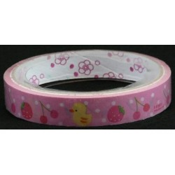 Cherry and Strawberry Print Novelty Tape