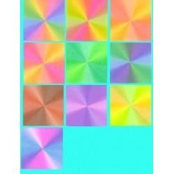 050 mm_ 100 sh - Prism Pattern Paper