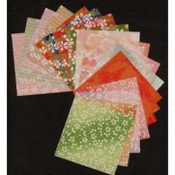 Origami Paper Mix Print Washi - 075 mm - 100 sheets