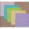 050 mm_   40 sh - Sparkle Glitter Origami Paper