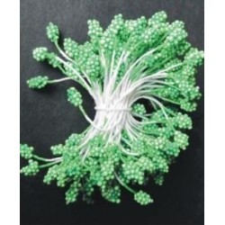 Artificial Flower Stamens - Green - 2024
