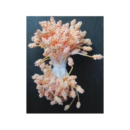 Artificial Flower Stamens - Dark Orange - 2024
