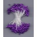 Artificial Flower Stamens - Dark Magenta - 2021