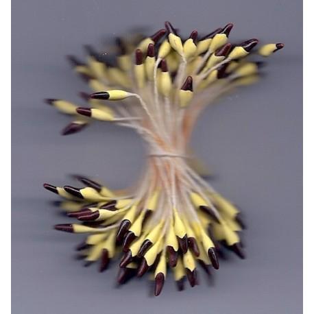 Artificial Flower Stamens - Brown Tip - 2022