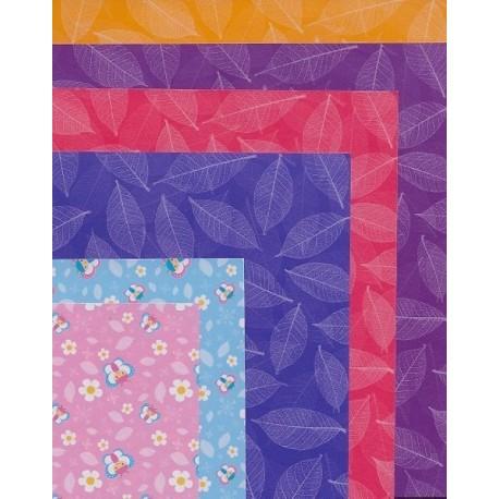 100 mm_  20 sh - Mix Print Origami Paper