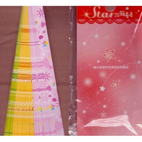 Origami Lucky Stars - Hearts Print