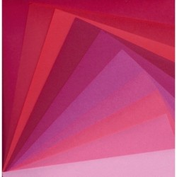Origami Paper Mix Colors Of Red Washi - 150 mm - 30 sheets
