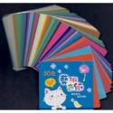 075 mm_ 100 sh - Fifty Colors Origami Folding Paper