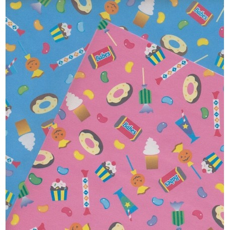 Origami Paper Candy Print