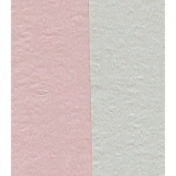 Crepe Paper Double Sided Pink and White - 150 mm - 12 sheets