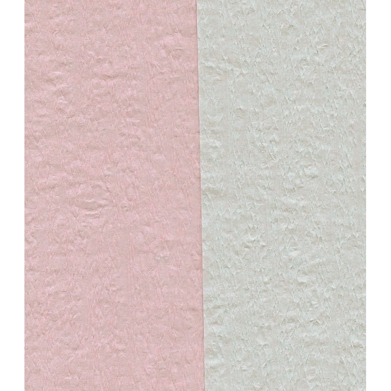 Crepe Paper Double Sided Pink/White From Japan