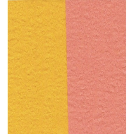 Crepe Paper - Double Sided Orange and Yellow - 150 mm - 12 sheets