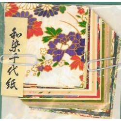 Origami Paper Echizen Print Washi  - 060 mm -  30 sheets