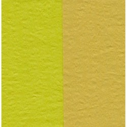 100 mm_  12 sh - Crepe Paper - Double Sided Lime Green and Pale Yellow