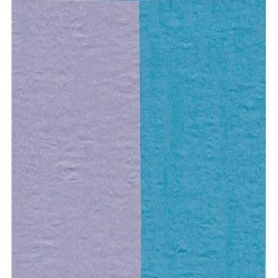 150 mm_  12 sh - Crepe Paper - Double Sided Blue/Light Purple