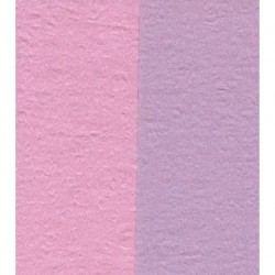 150 mm_  12 sh - Crepe Paper - Double Sided Pink and Light Purple