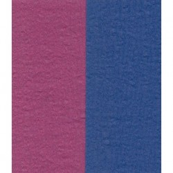 100 mm_  12 sh - Crepe Paper - Double Sided Blue and Dark Pink