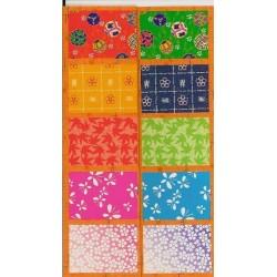 300 mm_  35 sh - Washi Paper Mix Prints