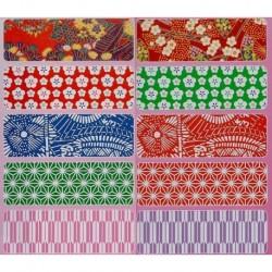 300 mm_  35 sh - Origami Washi Paper - Mix Prints