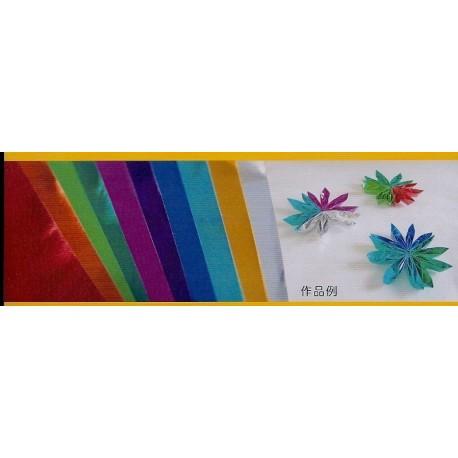Origami Foil Paper 10 Colors - 150 mm - 10 sheets